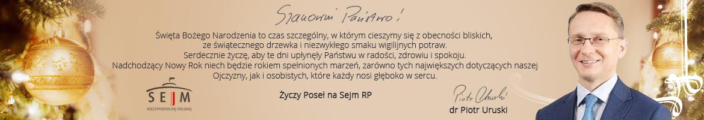 Życzenia P. Uruski