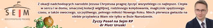Życzenia Piotr Uruski