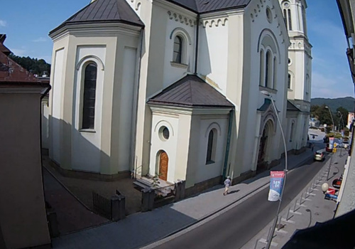 Kamera LIVE ul. Grzegorza, Sanok