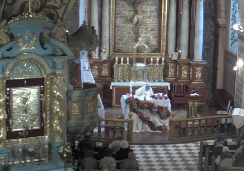 Parafia Podwyższenia Krzyża Świętego w Sanoku Msza Święta na żywo – Franciszkanie