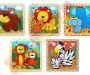 puzzle dla maluchów - wypukle