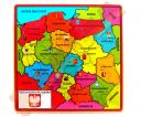 układanka - mapa Polski