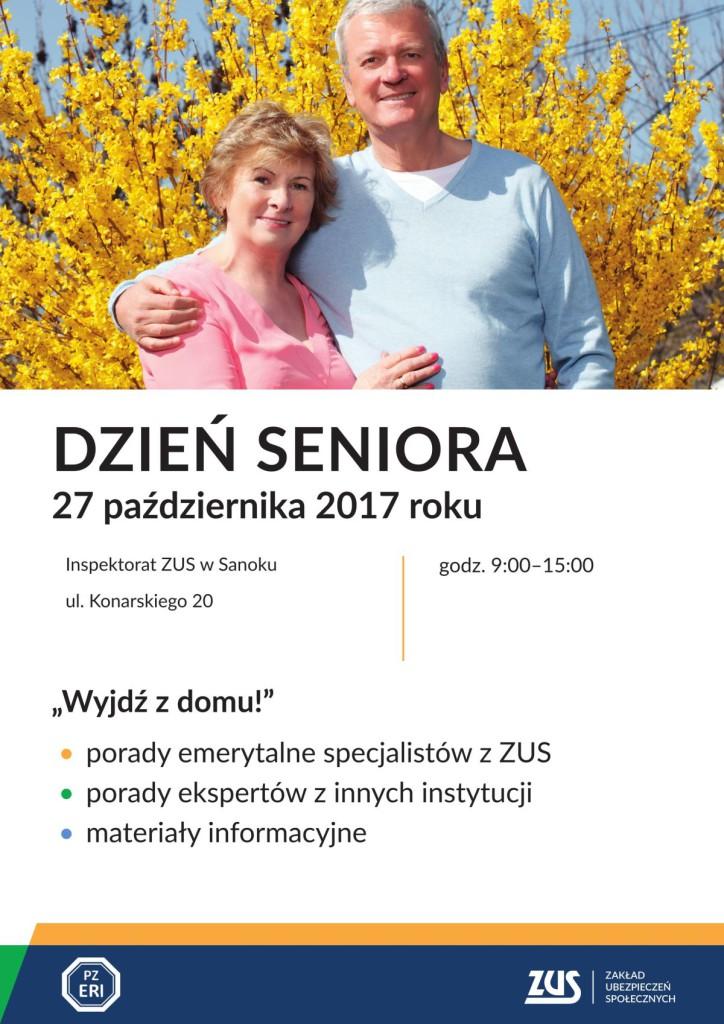 2580_17 Plakat na Dzień Seniora SANOK-1