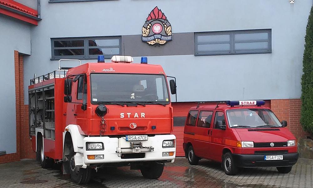 Przekazane pojazdy dla OSP Tyrawa Wołoska oraz OSP Jaćmierz