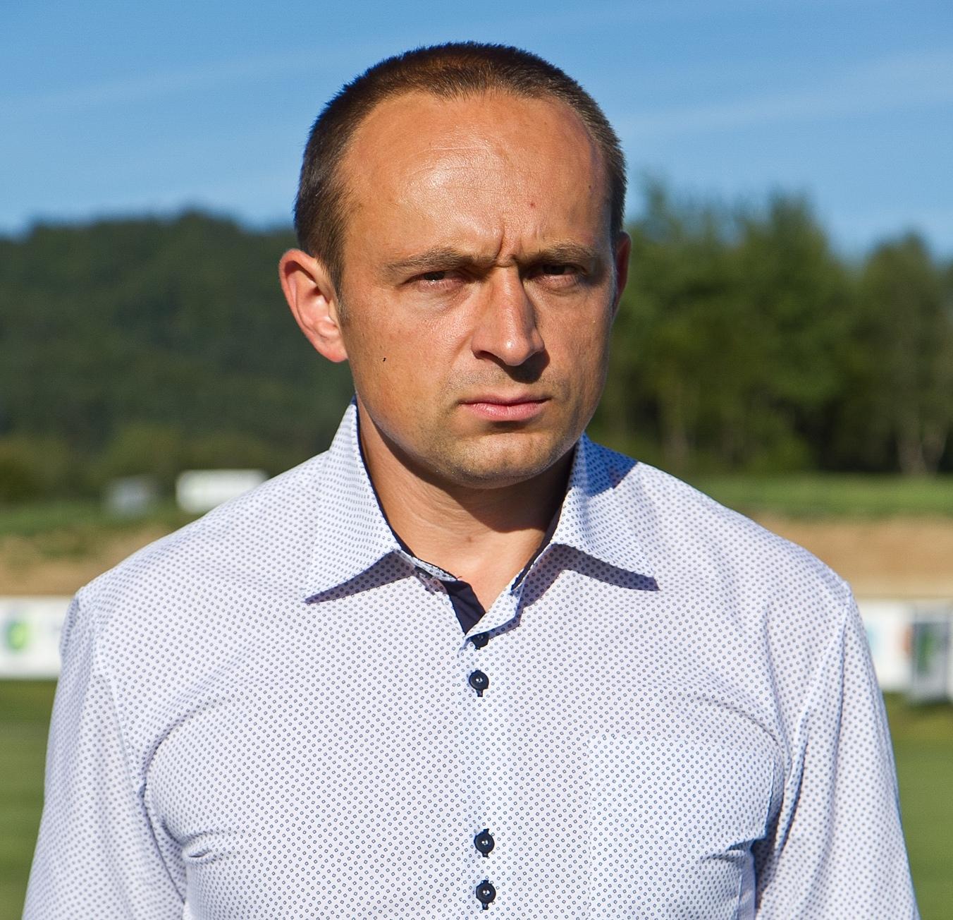 Bogusąłw Rajtar, prezes Zarządu KS Ekoball