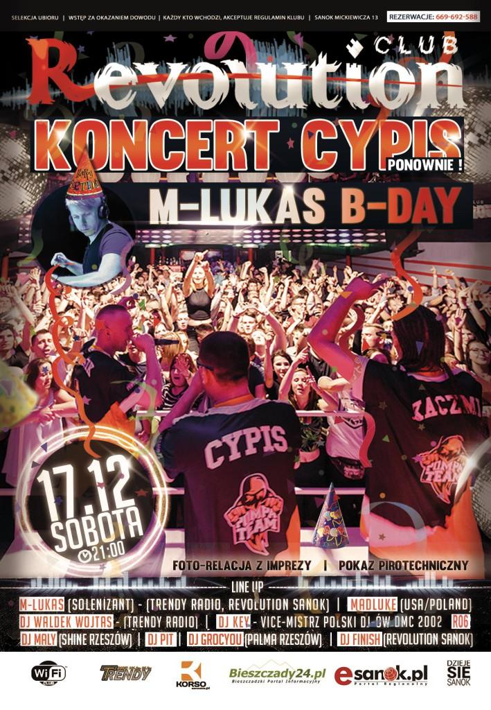 CYPIS & M-LUKAS B-Day