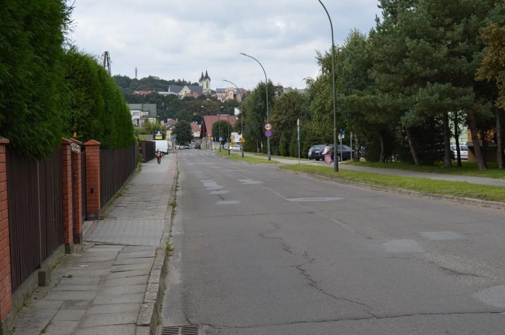 ul. Bronisława Prugara-Ketlinga w dzielnicy Błonie (stan obecny)