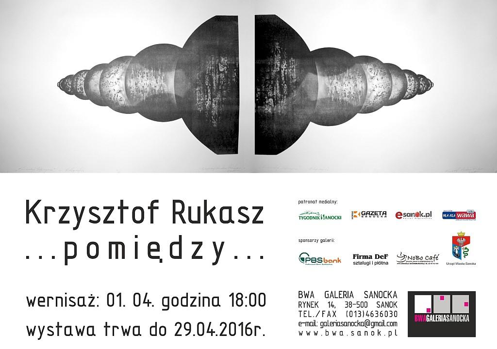 Krzysztof Rukasz plakat