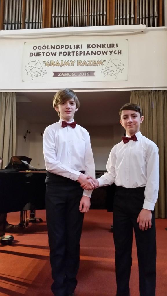 Mateusz Putyra  i Bartosz Jarosz Zamosc 2016 (2)