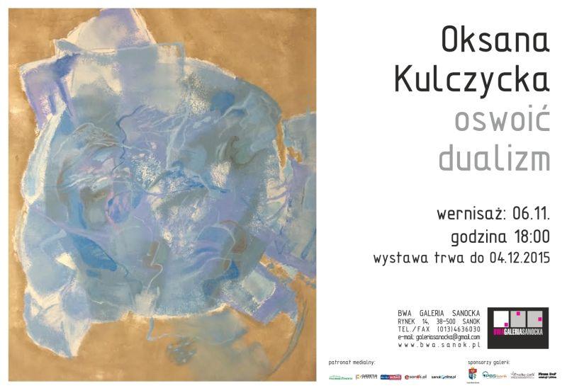Oksana Kulczycka zaproszenie