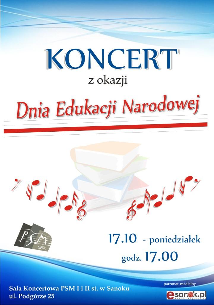 Plakat Dzień Edukacji Narodowej 2016