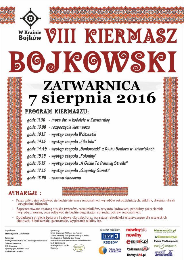 Plakat Kiermasz Bojkowski 2016(1)