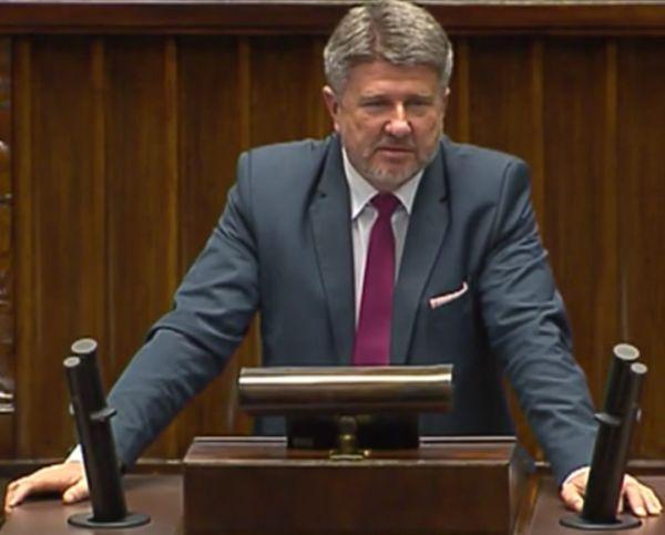 Poseł Bogdan Rzońca - wiceprzewodniczący sejmowej komisji infrastruktury