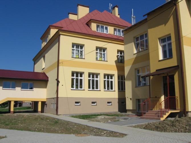 SP w Niebieszczanach po remoncie