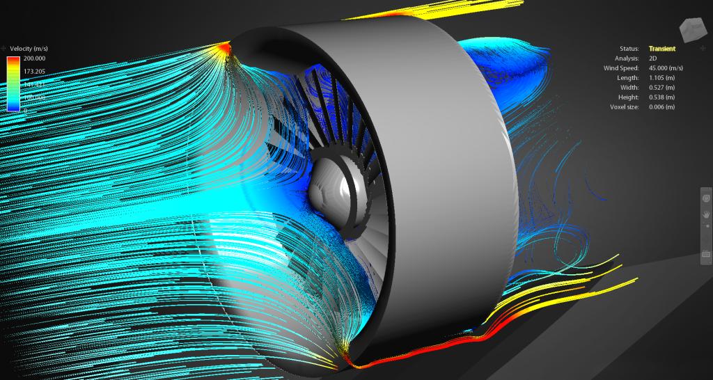 Symulacja pracy turbiny