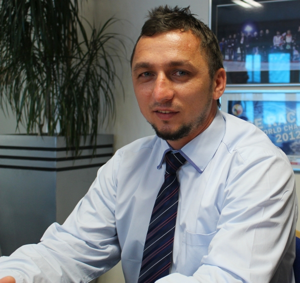 Tomasz Matuszewski - dyrektor MOSiR w Sanoku