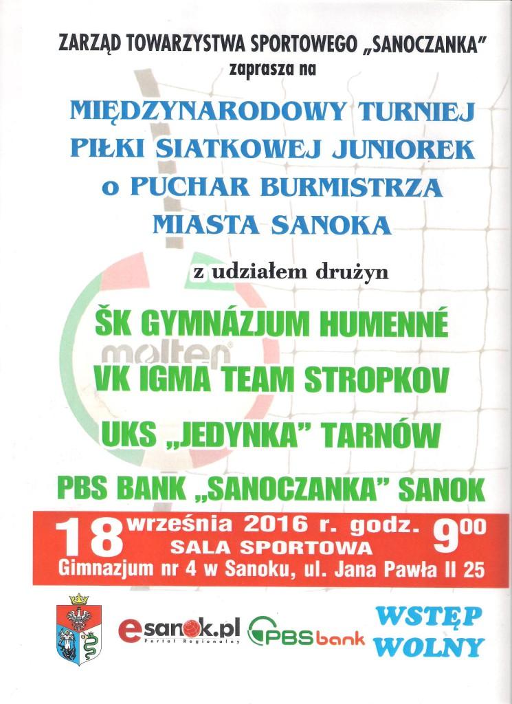 Turniej Sanoczanka