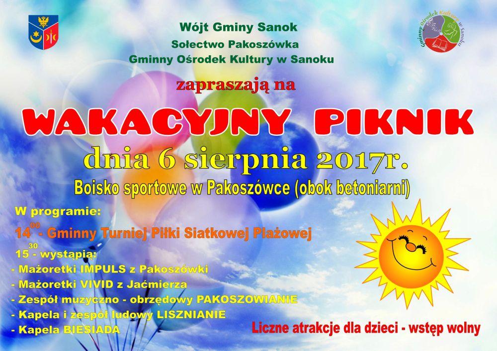 afisz Pakoszowka 2017