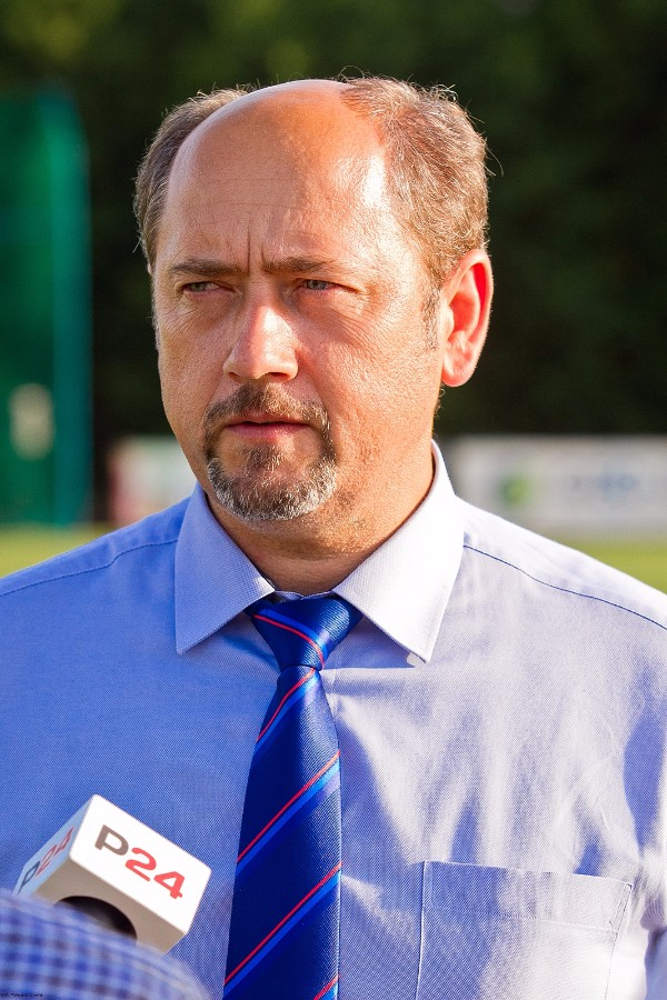 Mieczysław Golba, prezes Podkarpackiego ZPN. Foto: Toamsz Sowa
