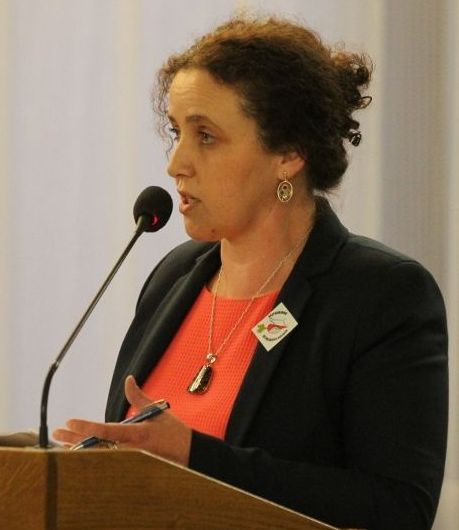 Jolanta Dal, radna Rady Gminy Komańcza