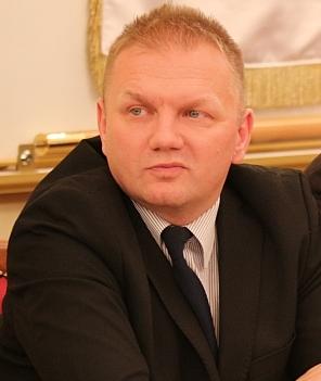 Jerzy Zuba, radny Rady Powiatu Sanockiego