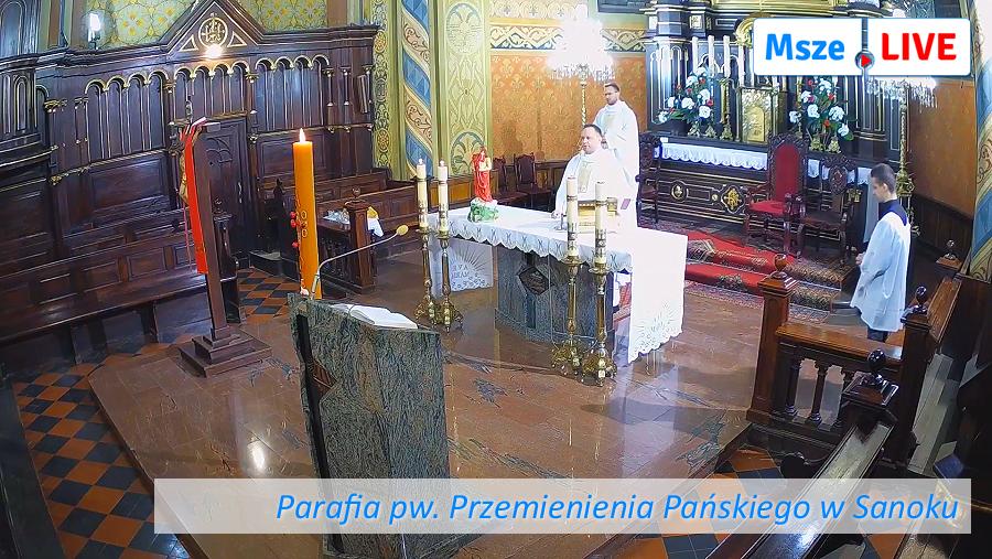 Parafia pw. Przemienienia Pańskiego w Sanoku