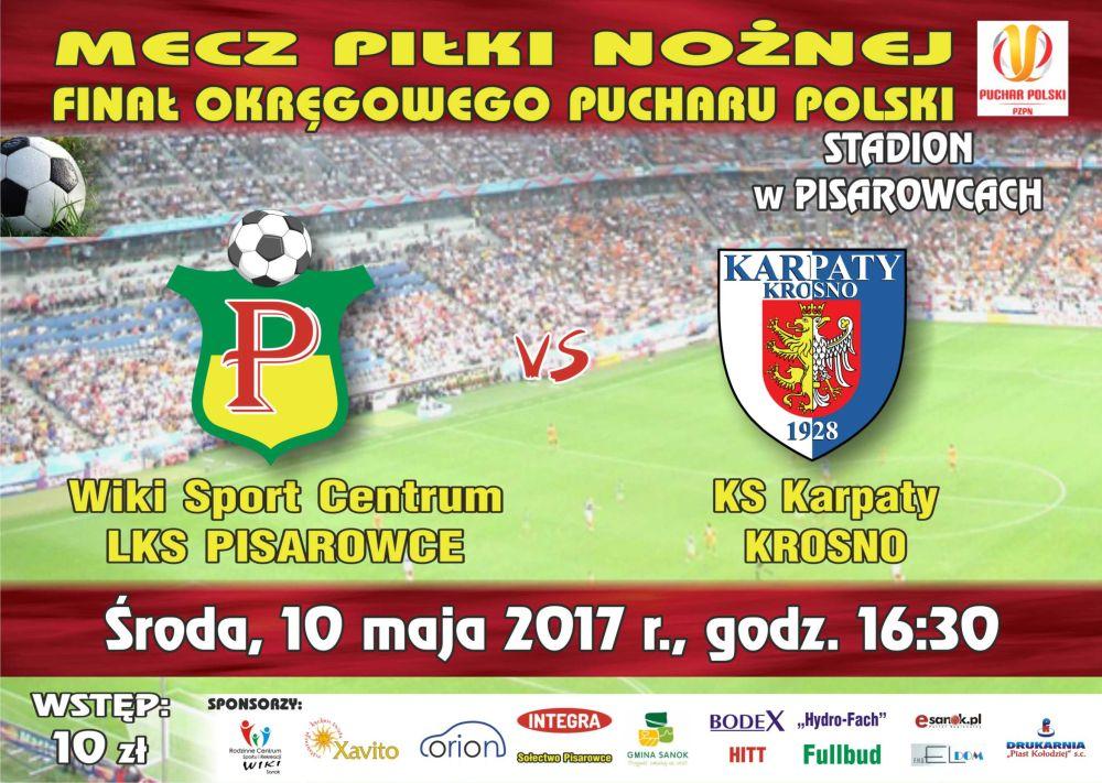 pisarowce LKS plakat i bilet 2018_Karpaty0