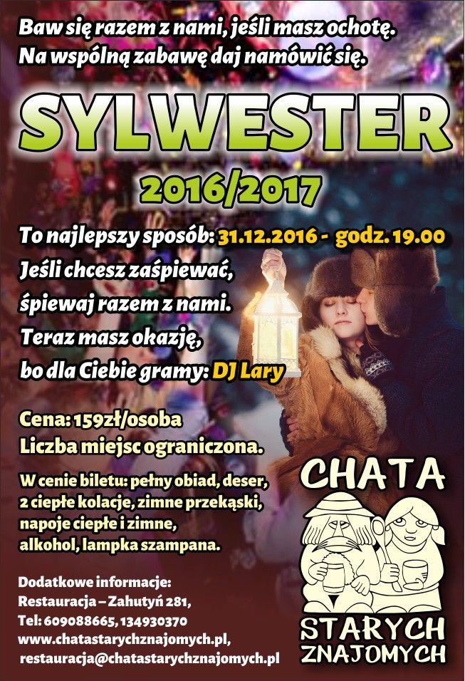 plakat sylwester 2016