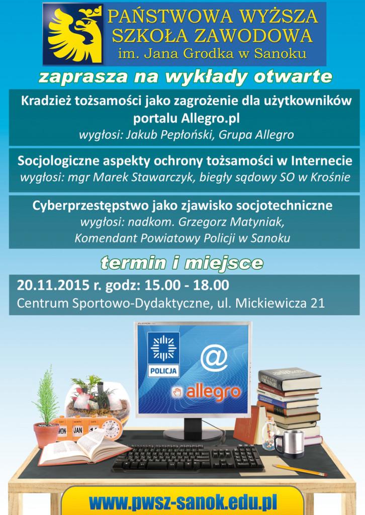 plakat_wyklad_bezpieczenstwo_w_sieci_2015_Internet