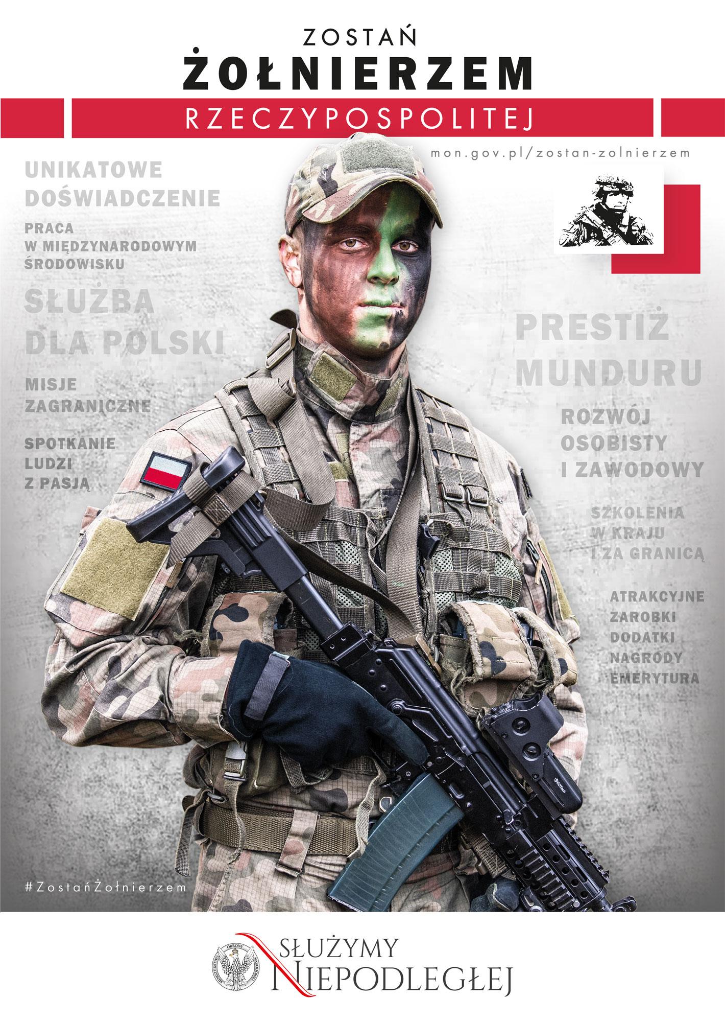 Połączyć się z żołnierzem