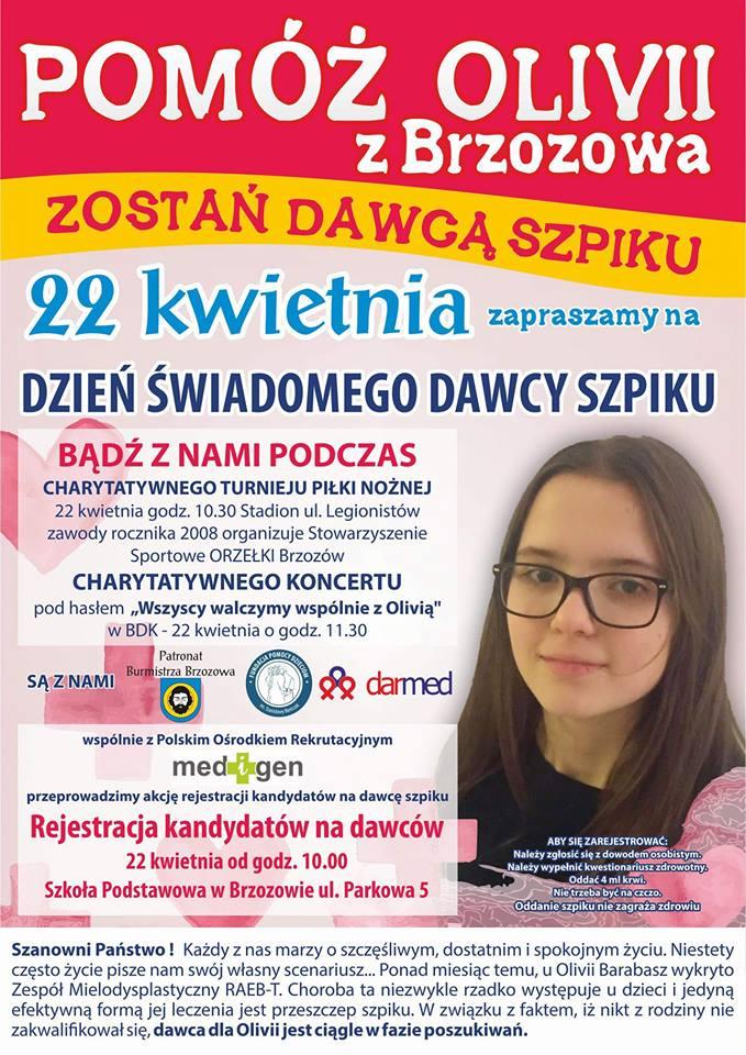 pomóżmy Oliwii