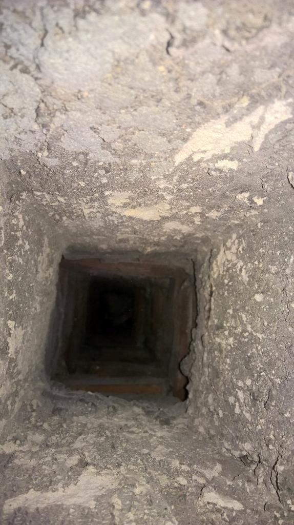przewód kominowy stary