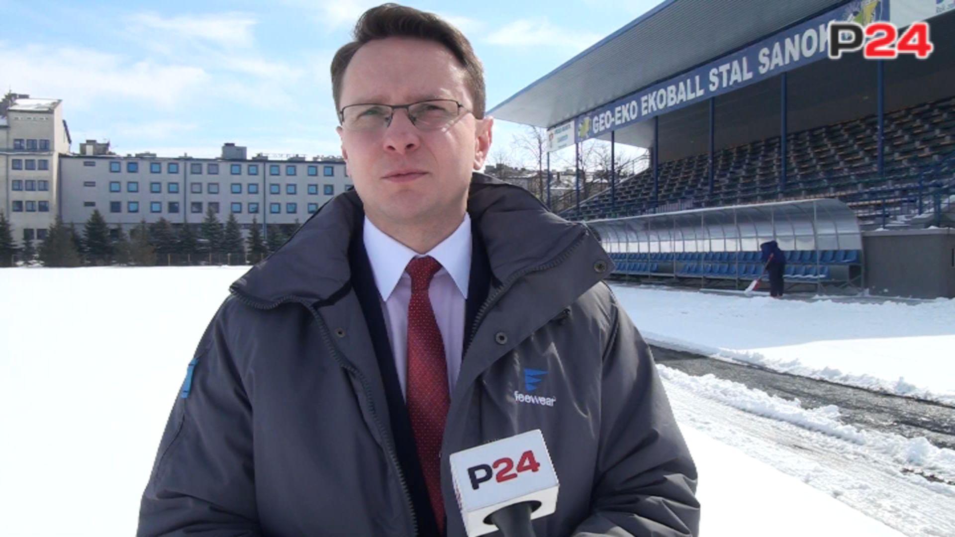 Na zdjęciu Piotr Uruski, Poseł na Sejm RP i jednocześnie członek Sejmowej Komisji Kultury Fizycznej, Sportu i Turystyki