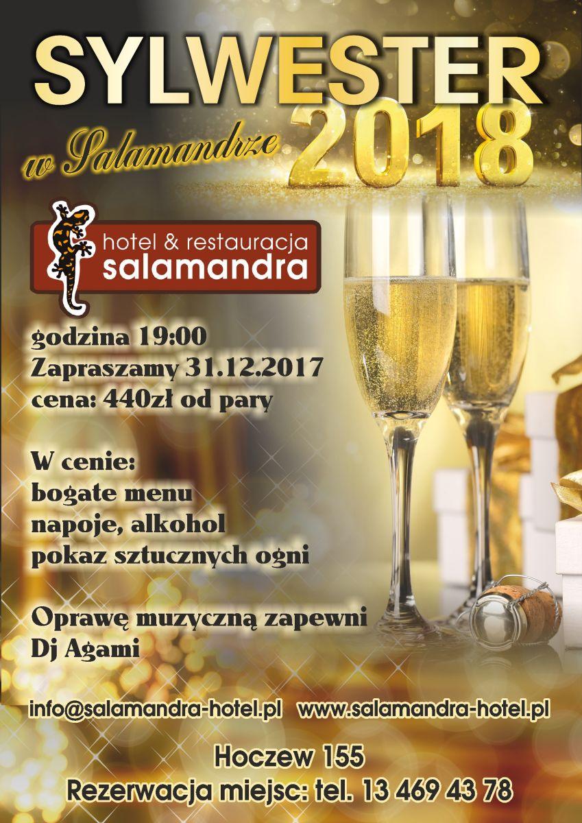 salamandra hotel sylwester 2018
