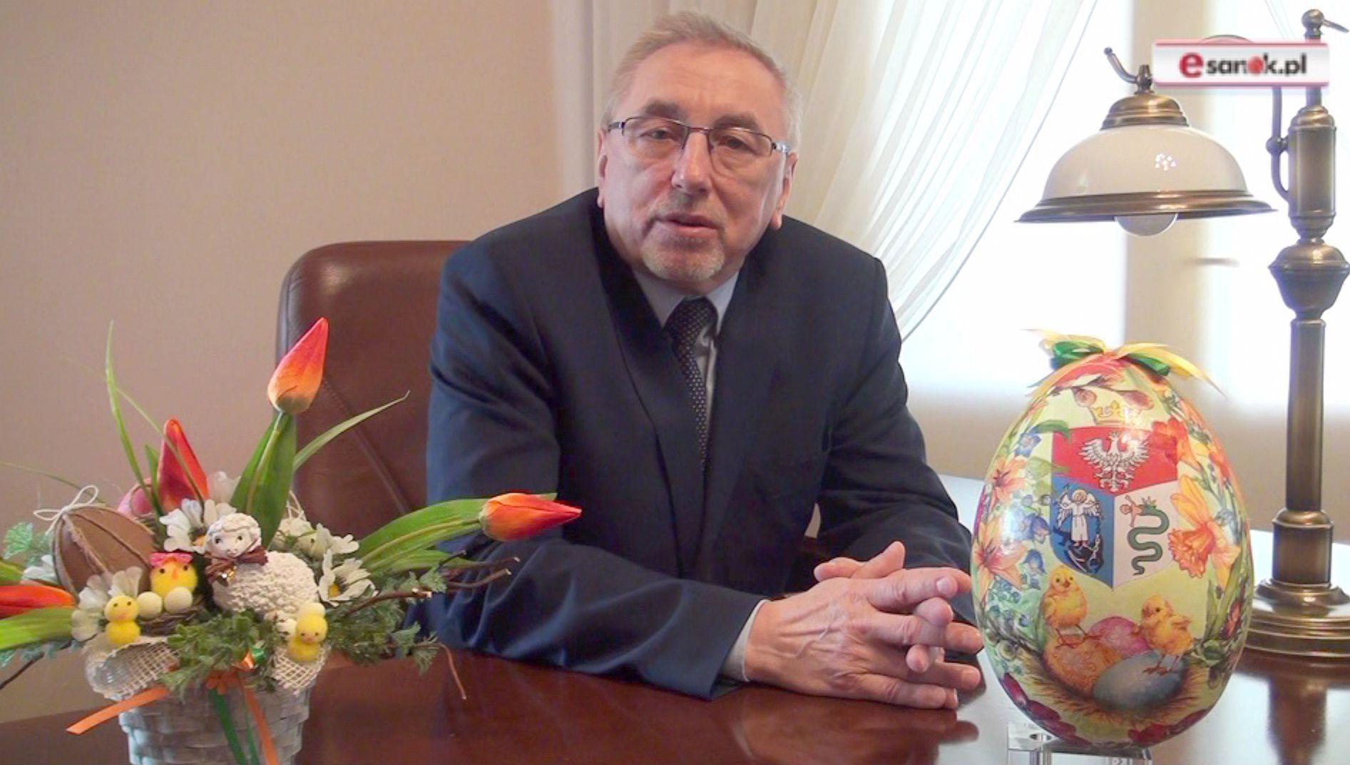 Tadeusz Pióro, burmistrz Sanoka