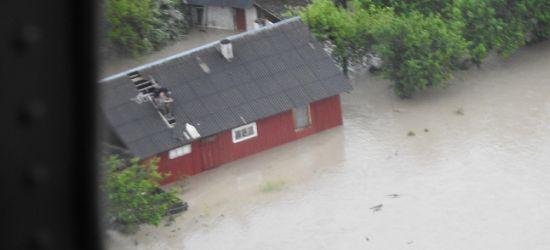 Zalany wschód Podkarpacia. Śmigłowce ewakuowały ludzi (FOTO)