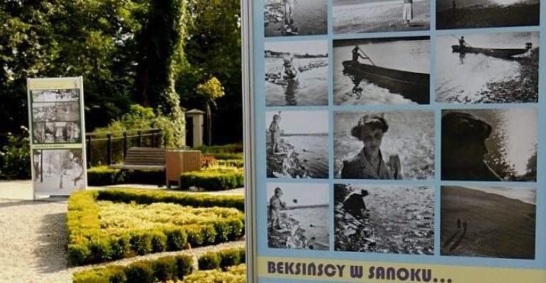 SANOK: Nigdy niepublikowane zdjęcia Beksińskich na zamkowym dziedzińcu! (FOTO)