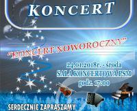 DZISIAJ: Koncert Noworoczny Młodej Sanockiej Filharmonii
