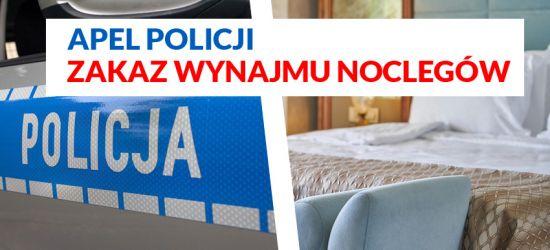 UWAGA: Zakaz wynajmu noclegów dla turystów!