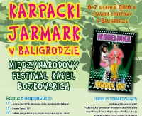 LESKO24.PL: Karpacki Jarmark w Baligrodzie. Będzie artystycznie i smacznie