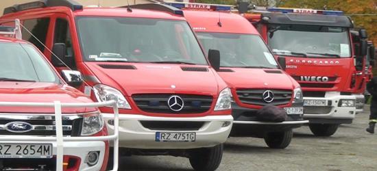 O bezpieczeństwie w PWSZ. Pokaz sprzętu strażackiego (FILM)
