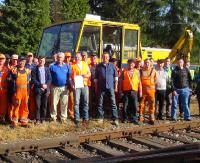 Patronat Marszałka Ortyla i społeczny trud wolontariuszy na dobry początek drogi do Karpackiej Kolei Euroregionalnej! (RELACJA WIDEO)