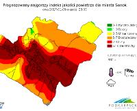 SANOK: Fatalna jakość powietrza. Najgorzej będzie popołudniem i w nocy (ZDJĘCIA)