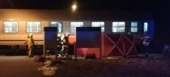 Tragedia w Zagórzu! Mężczyzna wpadł pod pociąg! Zginął