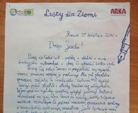 GMINA SANOK: Jakub z Prusieka w finale konkursu na najpiękniejszy List do Ziemi