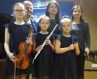 """Wyróżnienie dla zespołu """"Dolce trio"""" ze Szkoły Muzycznej w Sanoku!"""