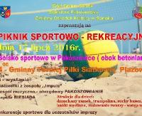 GMINA SANOK: Piknik Sportowo – Rekreacyjny w Pakoszówce
