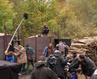 """Kręcą """"Las"""". Uniwersalne opowiadania Stasiuka na ekranie w samym sercu Bieszczadów (ZDJĘCIA, FILM)"""