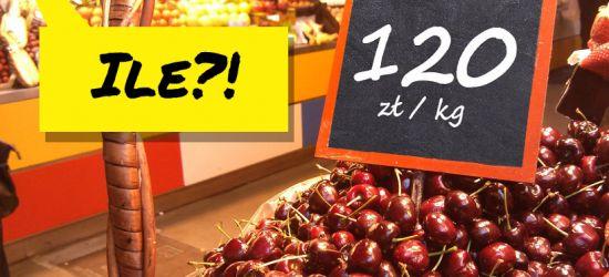 120 zł za kilogram czereśni?! Jakie ceny w Sanoku?