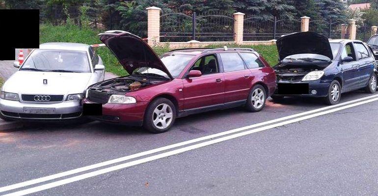 Zderzyły się cztery samochody! Dwoje dzieci z obrażeniami (FOTO)